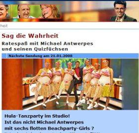 """""""Sag die Wahrheit - Ratespaß mit Michael Antwerpes"""""""