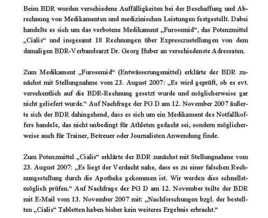 Stellungnahme BDR zu Auffälligkeiten bei der Medikamentenbeschaffung