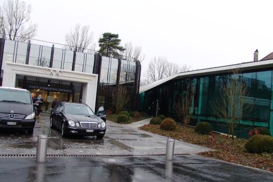 Eingang IOC-HQ