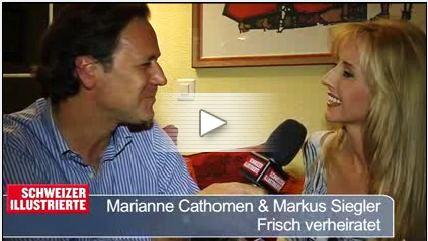 Schweizer Illustrierte / Marianne Cathomen & Markus Siegler / Frisch verheiratet