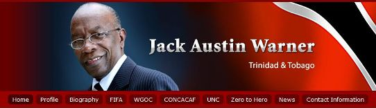 screenshot homepage jack austin warner