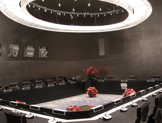 FIFA-ExKo Sitzungssaal