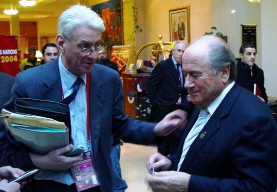 Jean-Marie Weber, Joseph Blatter, Tunis 2004