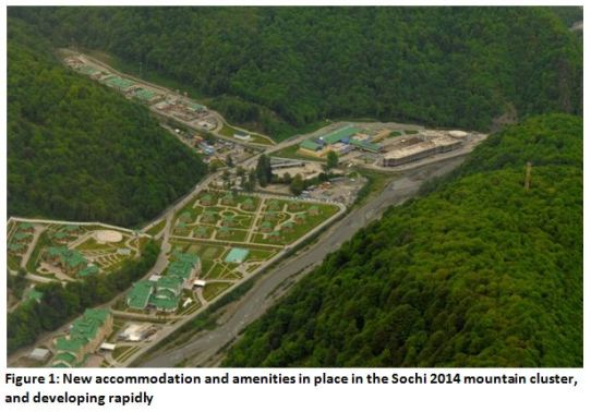 Sochi 2014 mountain cluster 'developing rapidly'