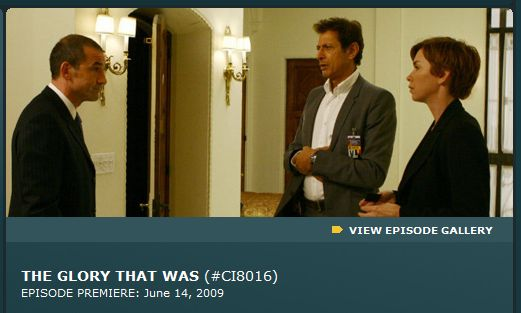 """The Glory that was"" (#CI8016), episode premiere: June 14, 2009"