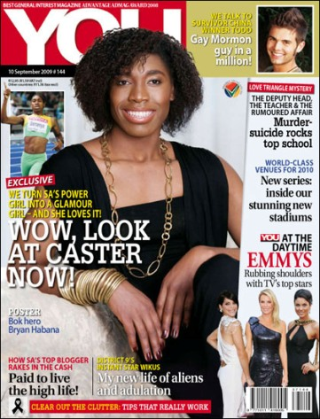 "Cover ""You"" #144, 10.09.2009 - ""WOW, LOOK AT CASTER NOW!"""