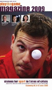 Frontpage Play the Game magazine 2009