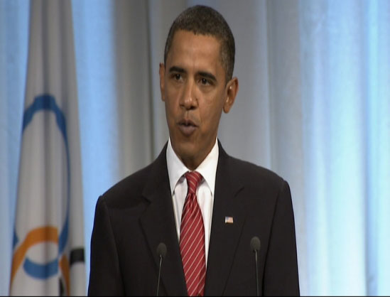 Barack Obama, IOC Session CPH
