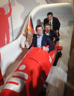 Trockenbob FDP/CSU: KT Guttenberg, Thomas Bach, Hackl Schorsch