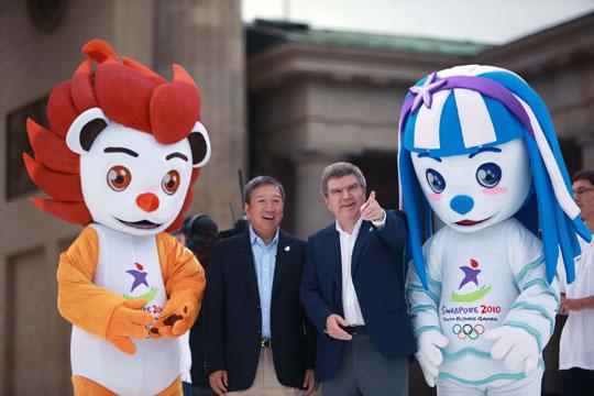IOC-Vizepräsidenten Ser Miang Ng (Singapur), Thomas Bach (Deutschland) - (c) IOC. Das IOC stellt Fotos und Filmmaterial allen Medien kostenfrei zur Verfügung.