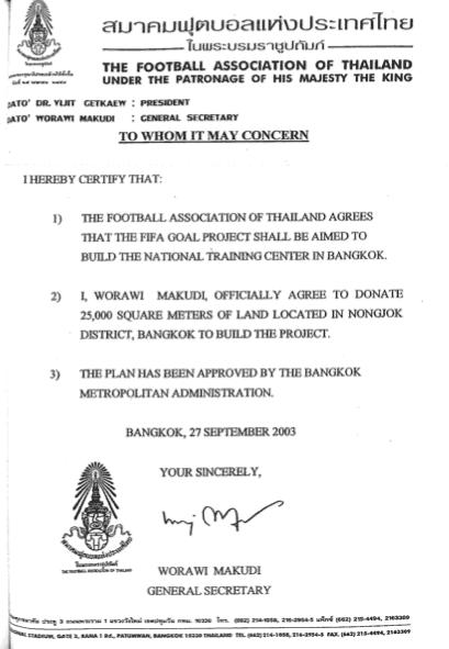 Makudi Land Promises 2003