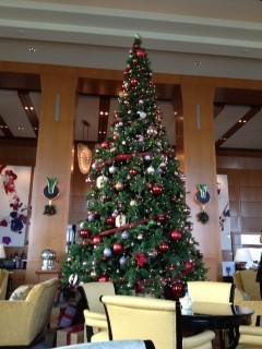 hotel-weihnachtsbaum in tokio