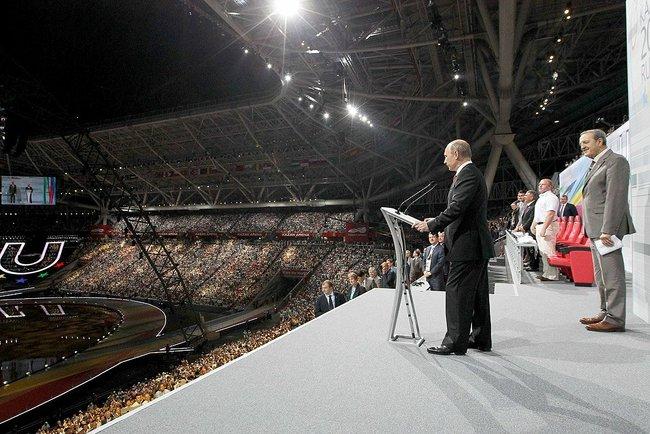 Opening Ceremony Universiade 2013, Kazan (c) Kremlin, Office of the Russian President