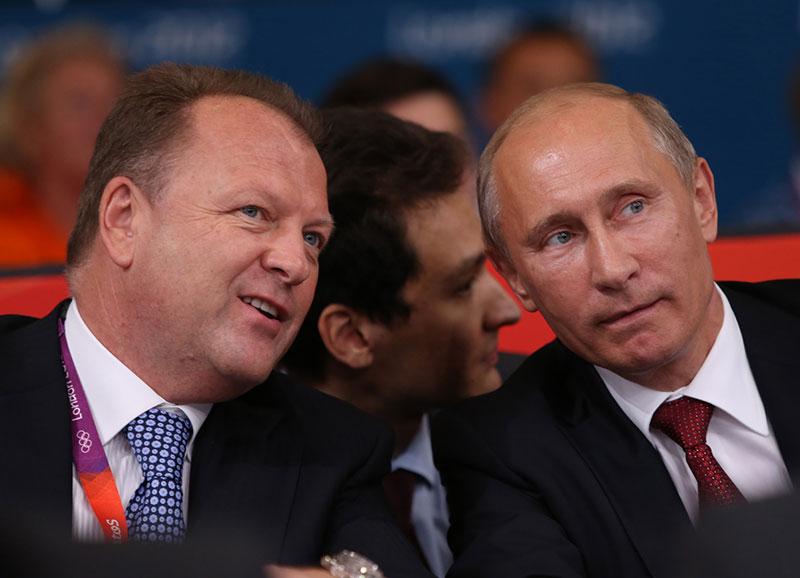 Marius Vizer, Wladimir Putin, London 2012 (c) IJF