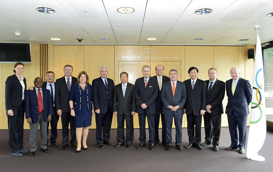 IOC Executive Board (c) IOC via Flickr, Richard Juilliart