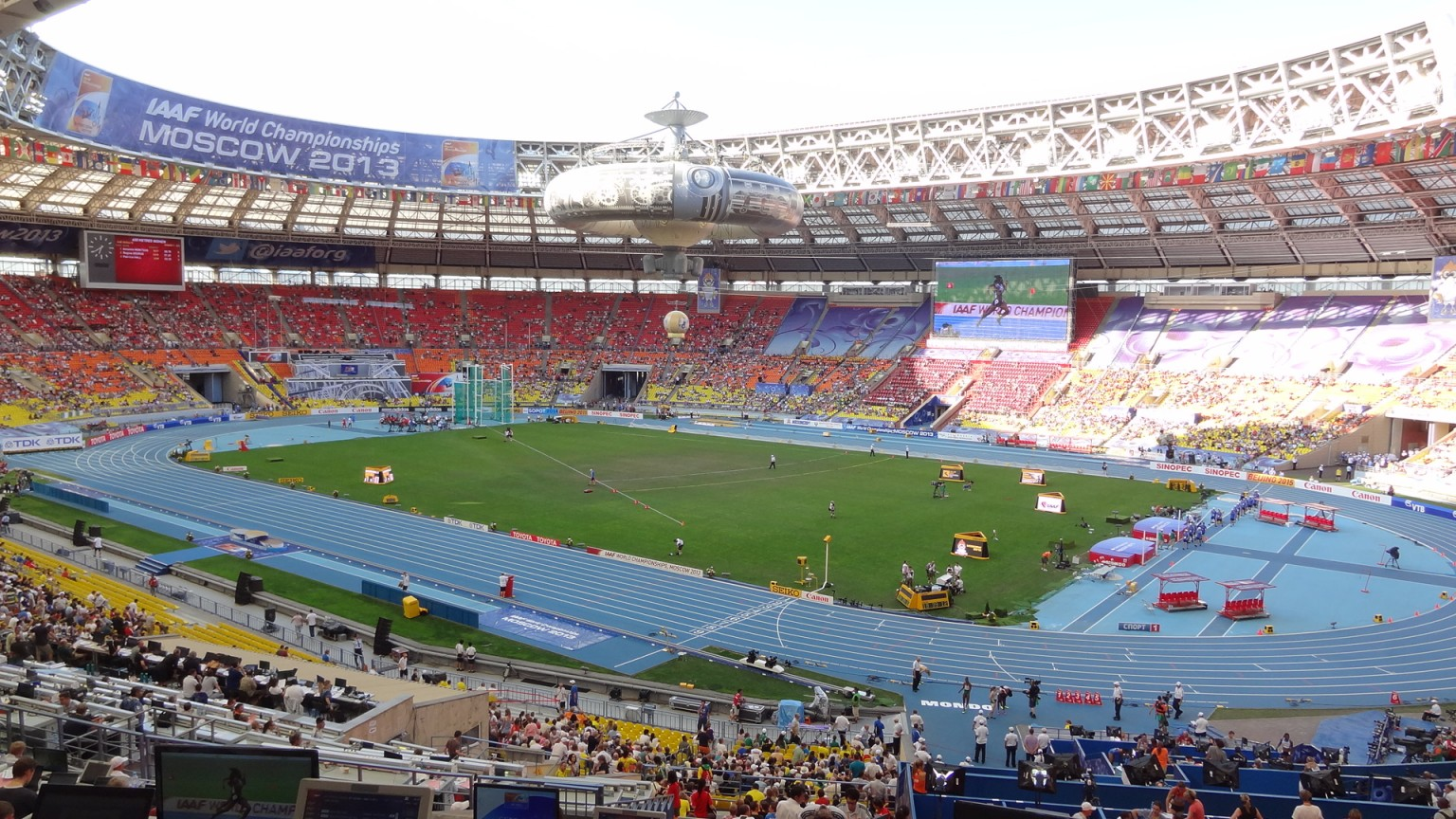 Luschniki, Leichtathletik-WM 2013