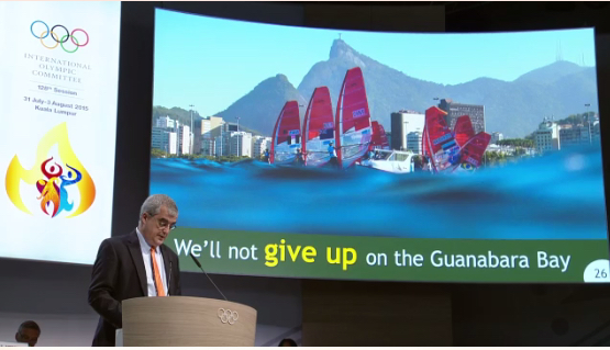 """We'll not give up on the Guanabara Bay"""