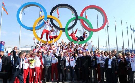 Sport hat nichts mit Politik zu tun. Nicht in Russland. (Fotoquelle: President of Russia)