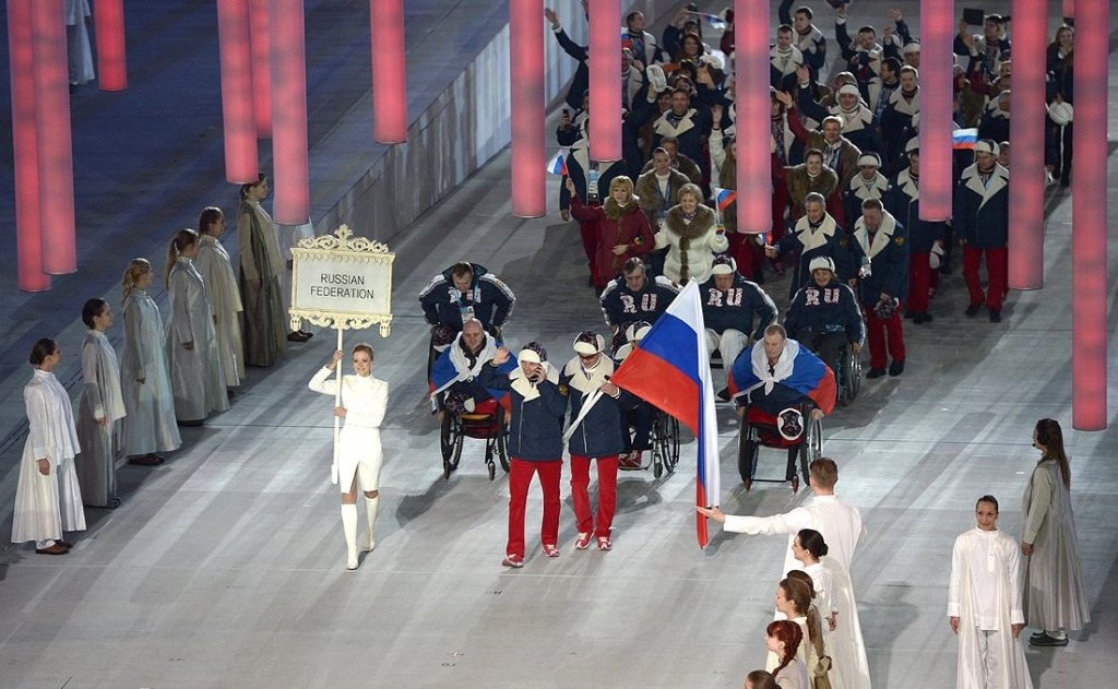 Paralympics 2014. (Foto: President of Russia)