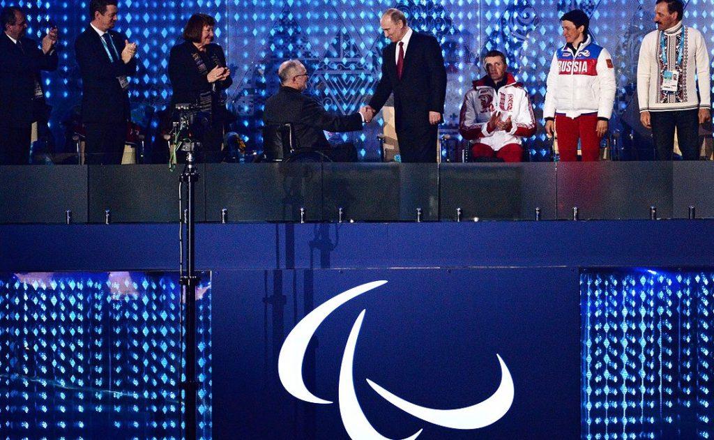 Paralympics 2014, Sir Philip Craven, Wladimir Putin (Foto: President of Russia)