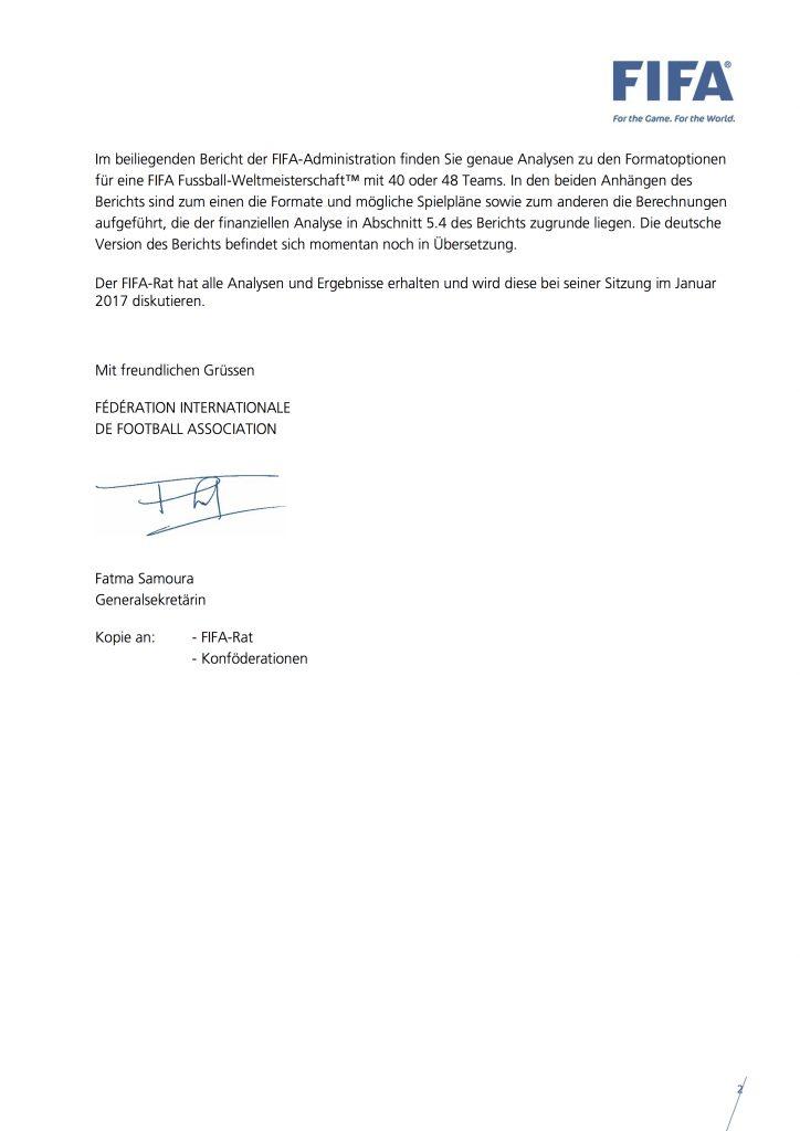 Zirkularschreiben 1572 an die 211 FIFA-Nationalverbände, S. 2